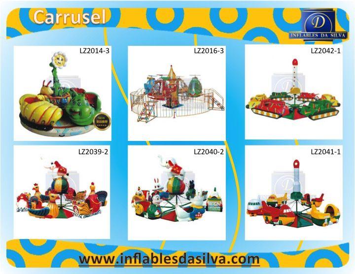 atracciones mecanicas para parques de niños