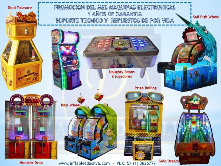 maquinas infantiles