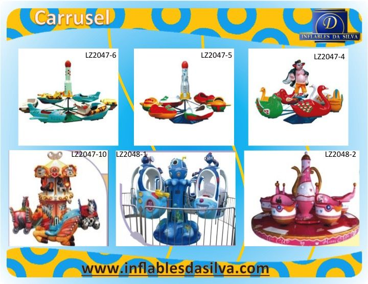 Juegos mecanicos infantiles