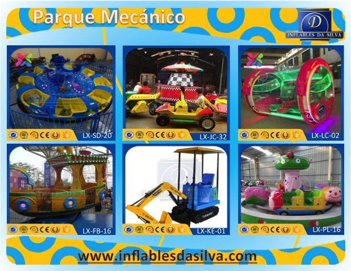 atracciones mecanicas infantiles