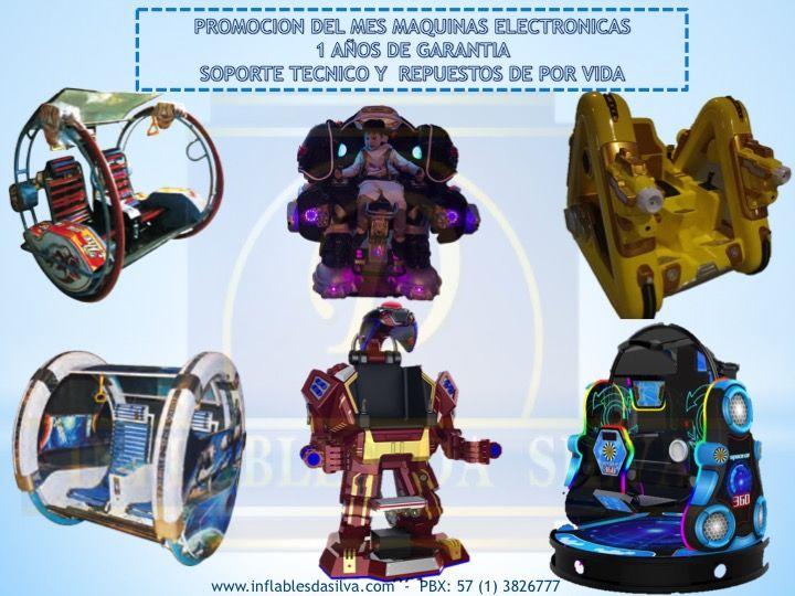 Venta de maquinas de robot