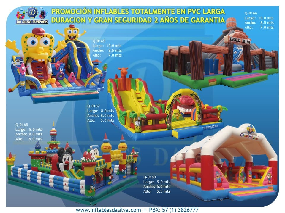 Parque inflable