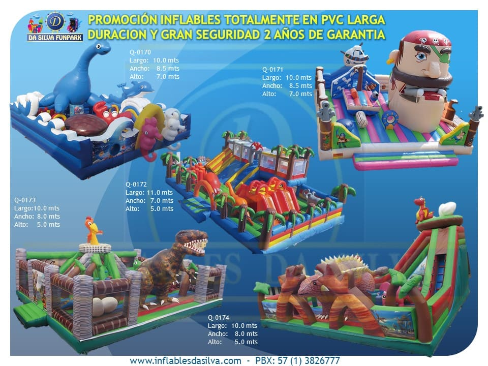 Parque inflable 1
