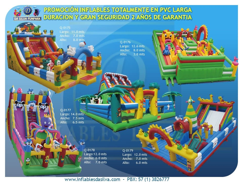 Parque inflable 2