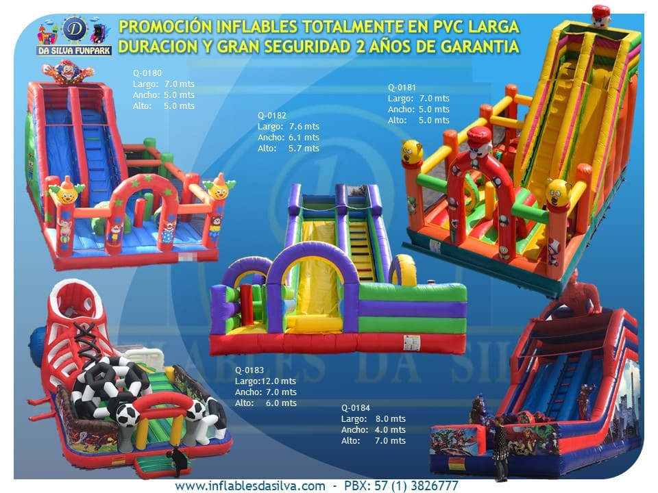 Parque inflable 3