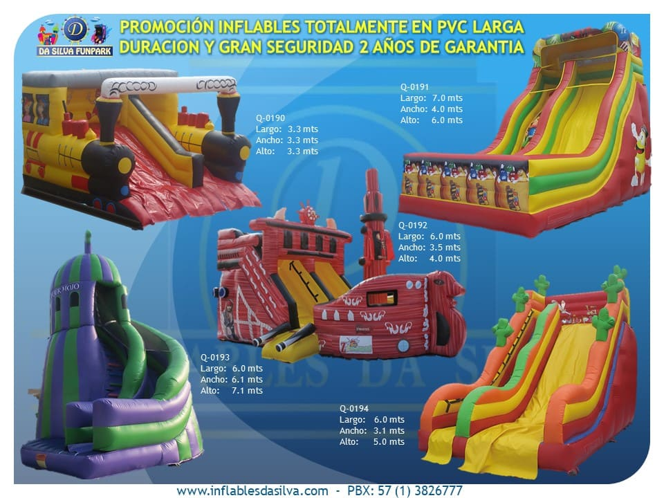 Parque inflable 5