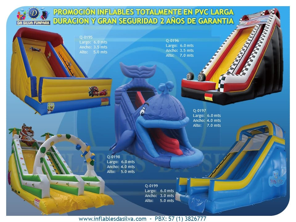 Parque inflable 7