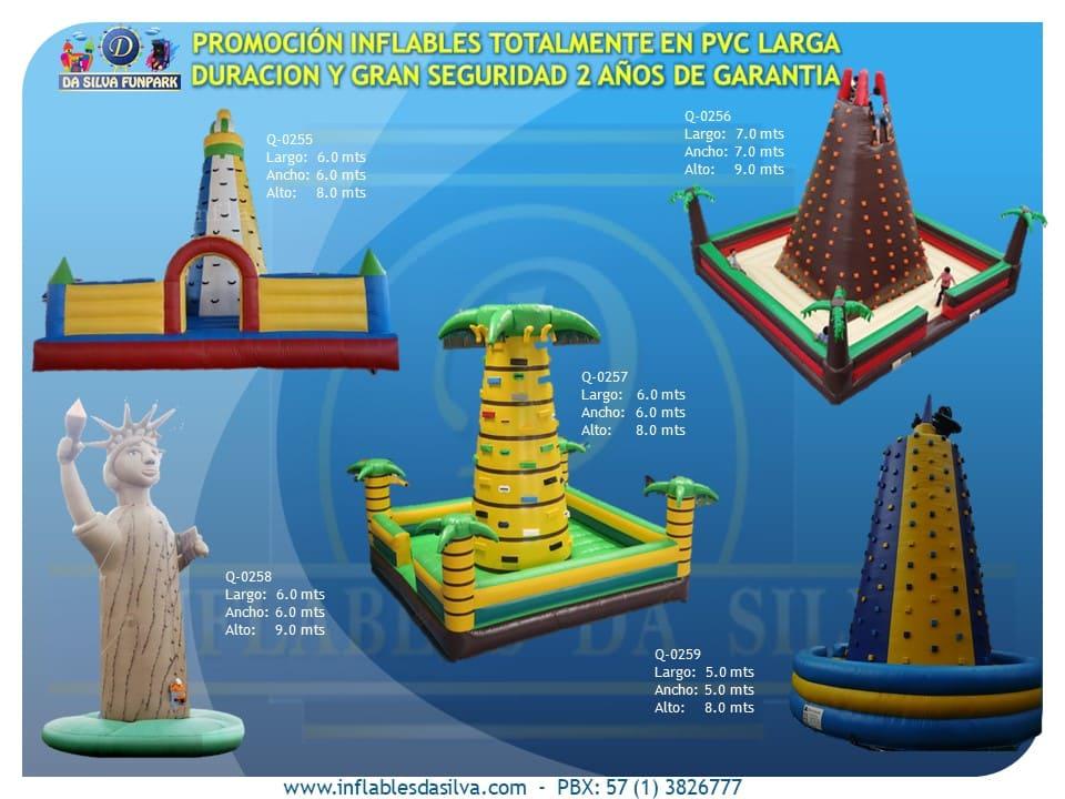 torres de escalar inflables