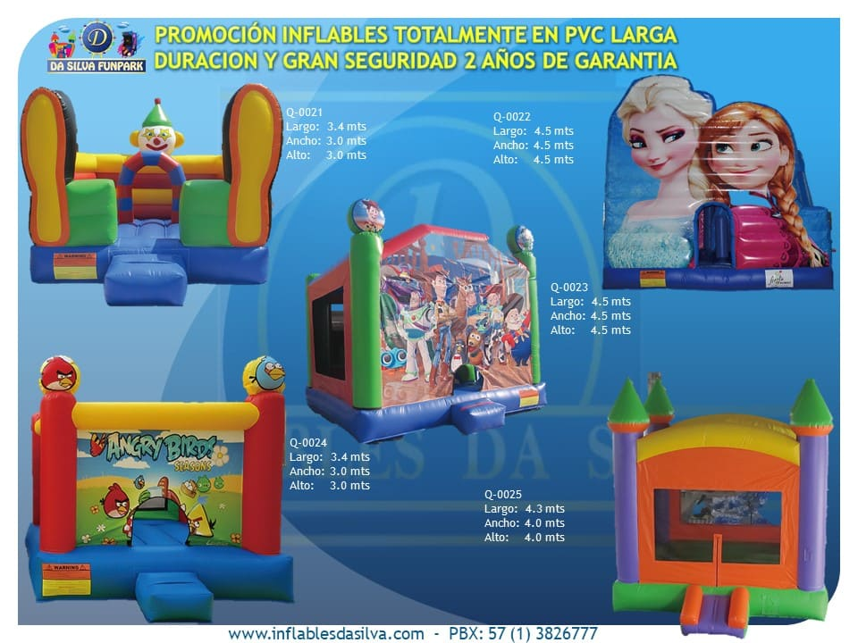 Inflables infantiles 8